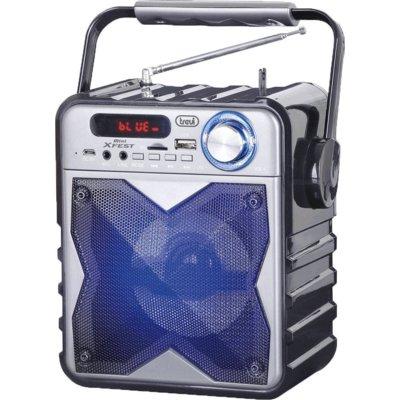 Głośnik mobilny TREVI XF 100 Srebrno-czarny Electro 885560