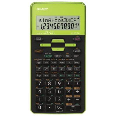 Kalkulator SHARP EL-531TH Zielony Electro 399667