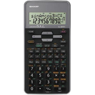 Kalkulator SHARP EL-531TH Szary Electro 383493