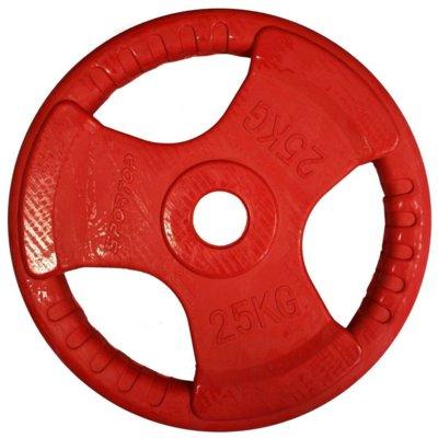 Obciążenie SPORTOP FI 51 Czerwony (25 kg) Electro 503246