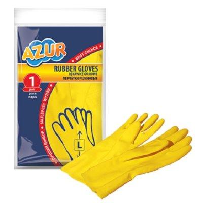 Rękawice gumowe AZUR 092110 (rozmiar L) Electro 376261