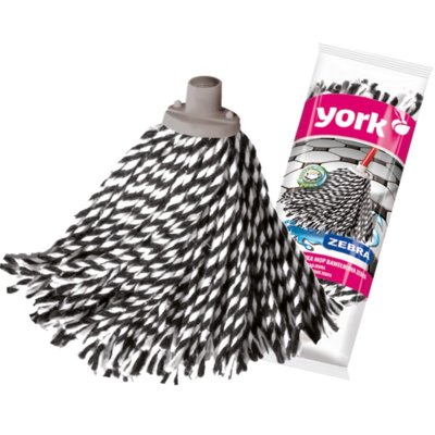 Końcówka mop YORK Zebra Electro 397637