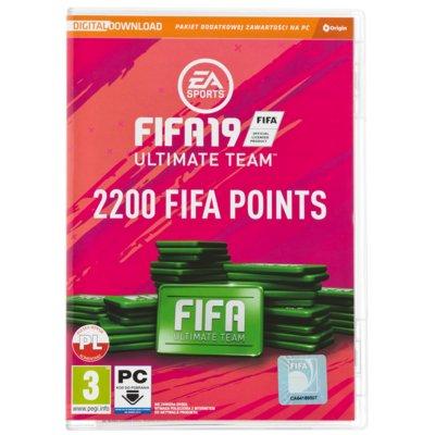 FIFA 19 – 2200 punktów CIAB Gra PC Electro 887811