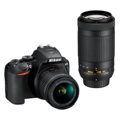 Aparat NIKON D3500 + Obiektyw AF-P DX 18-55mm VR + AF-P DX 70-300mm ED VR