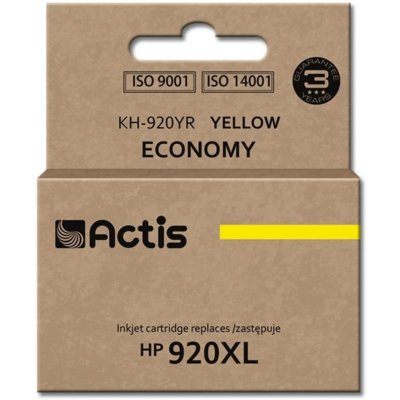 Tusz ACTIS KH-920YR Żółty Electro e928923