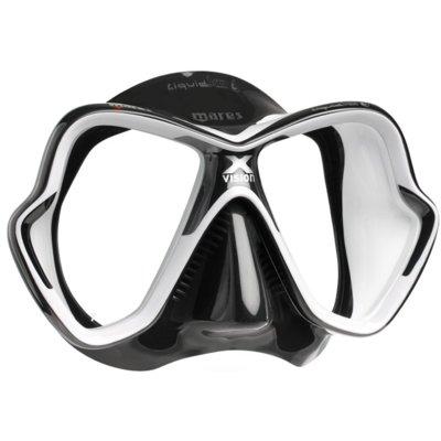 Maska do nurkowania MARES X-Vision Ultra Liquidskin Czarno-biały Electro 680895