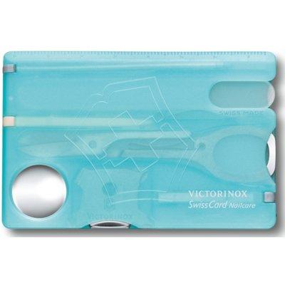 Niezbędnik VICTORINOX SwissCard Nailcare 0.7240.T21 Niebieski Electro 457022