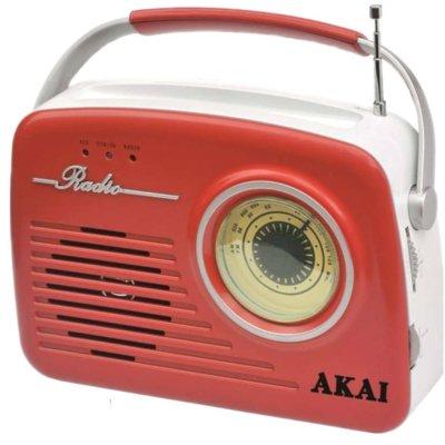 Radio AKAI APR-11R Czerwony Electro 888587