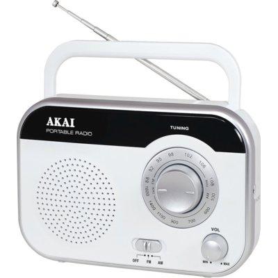 Radio AKAI PR003A-410B Biały Electro 888589