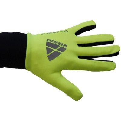 Rękawice joggingowe VIZARI (rozmiar S) Zielono-czarny Electro 191296