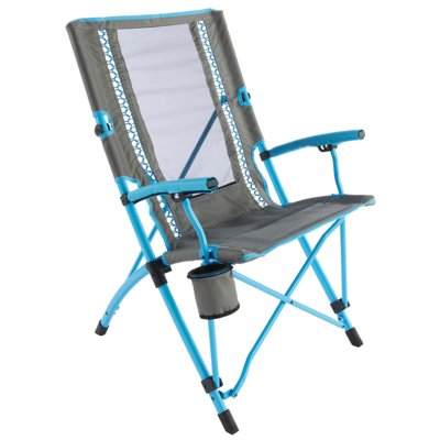 Krzesło turystyczne COLEMAN Bungee Chair Szaro-niebieski Electro 261213