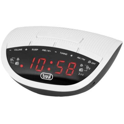 Radiobudzik TREVI RC 825 D Biały Electro 678887