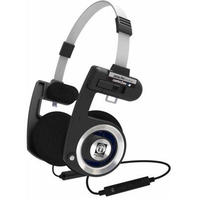 Słuchawki nauszne KOSS Porta Pro Czarno-srebrny Electro 695311