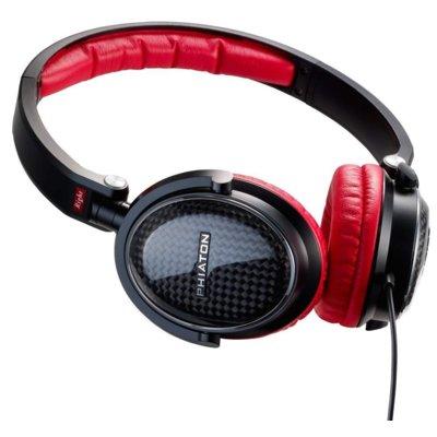 Słuchawki nauszne PHIATON MS300 Czarno-czerwony Electro 890820
