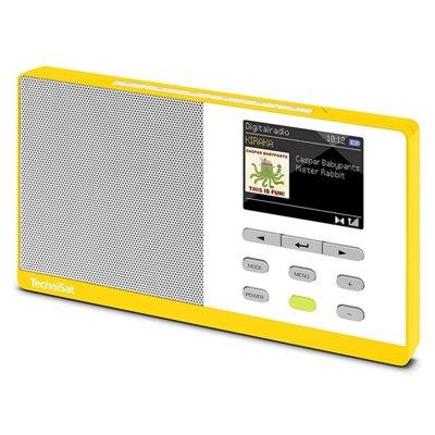 Radio TECHNISAT Digitradio Kira 1 Żółto-biały Electro 174266