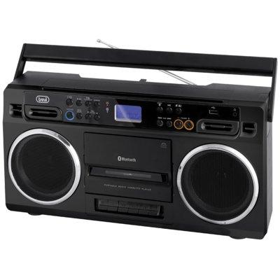 Radiomagnetofon TREVI RR504 BT Czarny Electro 891140