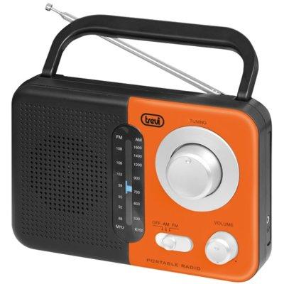 Radio TREVI RA 768 S Czarno-pomarańczowy Electro 623974