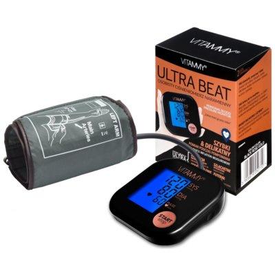 Ciśnieniomierz VITAMMY Ultra Beat Czarno-różowy Electro 233619