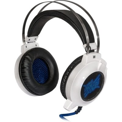 Słuchawki DEFENDER Icefall G-510D Biało-niebieski + Gra Electro 552451