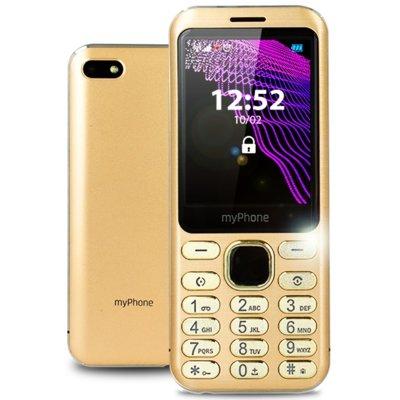 Telefon MYPHONE Maestro Złoty
