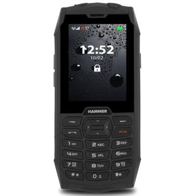 Telefon HAMMER 4 Czarny Electro 890891