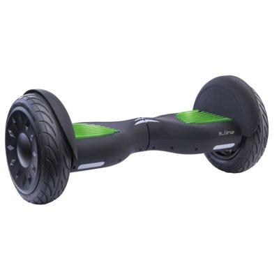 Deskorolka elektryczna hoverboard S-LINE SB205G 10 Czarno-zielony Electro 887330