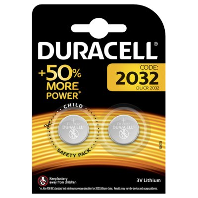 Baterie DL CR2032 DURACELL (2 szt.) Electro 886864