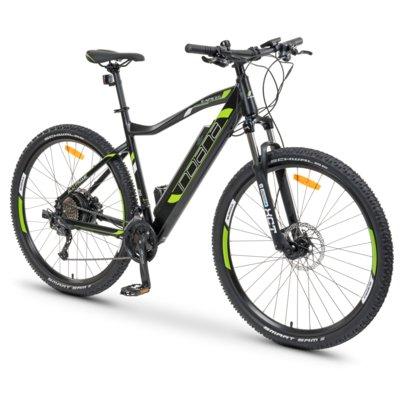 Rower elektryczny INDIANA E-MTB 2.0 M21 Czarno-zielony