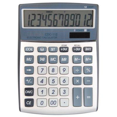 Kalkulator CITIZEN CDC-112 Srebrny Electro 139163