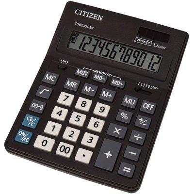Kalkulator CITIZEN CDB1201-BK Czarny Electro 433828