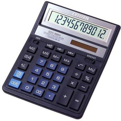 Kalkulator CITIZEN SDC-888XBL Electro 429771