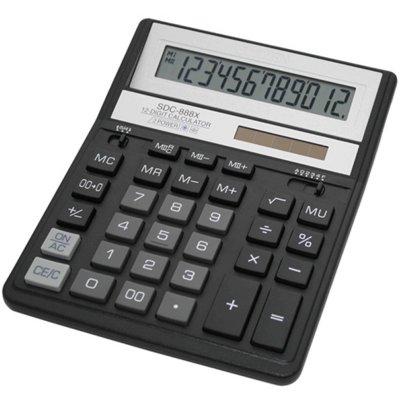 Kalkulator CITIZEN SDC-888XBK Electro 432862