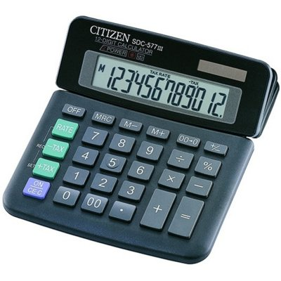 Kalkulator CITIZEN SDC577III Electro 483657