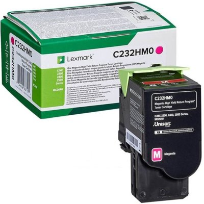 Toner LEXMARK C232HM0 Purpurowy Electro e1136358