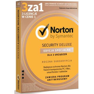 Program NORTON Security Deluxe 3.0 PL (3 stan. 12 mies.) Electro 892624