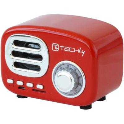 Głośnik mobilny TECHLY 105490 Czerwony Electro e1137473