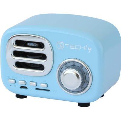 Głośnik mobilny TECHLY 105483 Niebieski Electro 963092