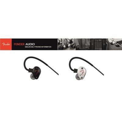 Słuchawki dokanałowe FENDER Puresonic Biały Electro 894471
