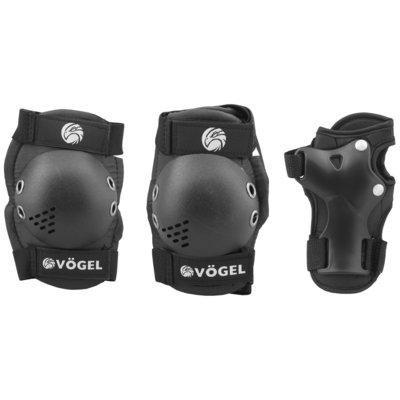 Ochraniacze na rower VÖGEL VOC-5S0XS Czarny dla Dzieci (rozmiar XS) Electro 893288
