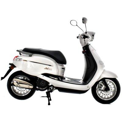 Motocykl TORQ Moko 125 Biały Electro 893299