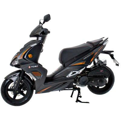 Motocykl TORQ Neco 125 Czarno-pomarańczowy Electro 893300
