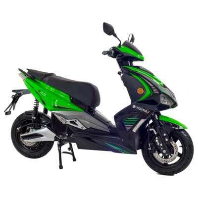 Skuter elektryczny TORQ e-MAX Zielono-czarny Electro 893302