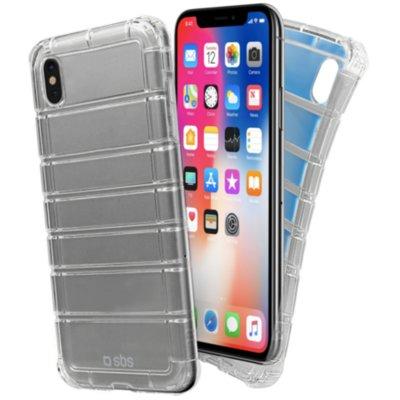 Etui SBS Air Impact do Apple iPhone X/XS Przezroczysty Electro 552713