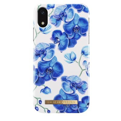 Etui IDEAL OF SWEDEN iDeal Fashion Case Baby Blue Orchids do iPhone XR Electro 896083