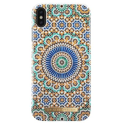 Etui IDEAL OF SWEDEN Fashion Case Morrocan Zelige do iPhone X/Xs Electro 896077