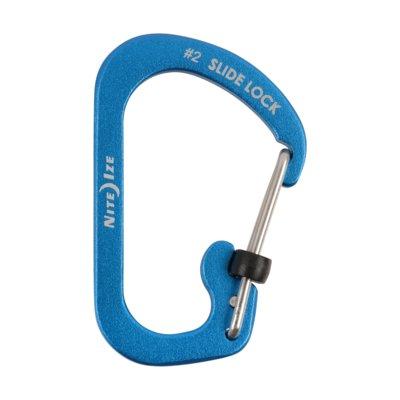 Karabińczyk NITE IZE Slidelock #2 Niebieski Electro e1139843