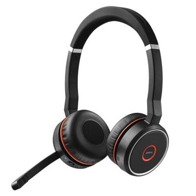 Słuchawki nauszne JABRA Bluetooth Evolve 75 Czarny Electro 894109
