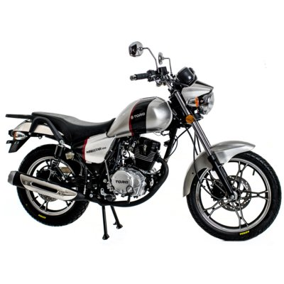 Motocykl TORQ Windstar 125 Srebrny Electro 893358