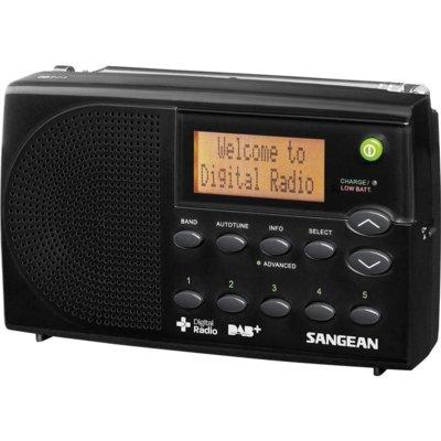 Radio SANGEAN DPR-65 Czarny Electro 893649