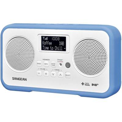 Radio SANGEAN DPR-77 Biało-niebieski Electro 893655